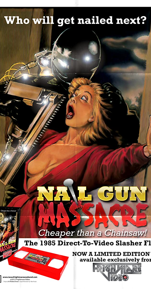 the nail gun massacre video 1985 release info imdb