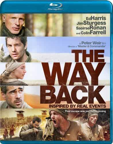 The Way Back (2010) Dual Audio Hindi 720p BluRay ESubs