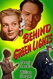 Behind Green Lights Poster