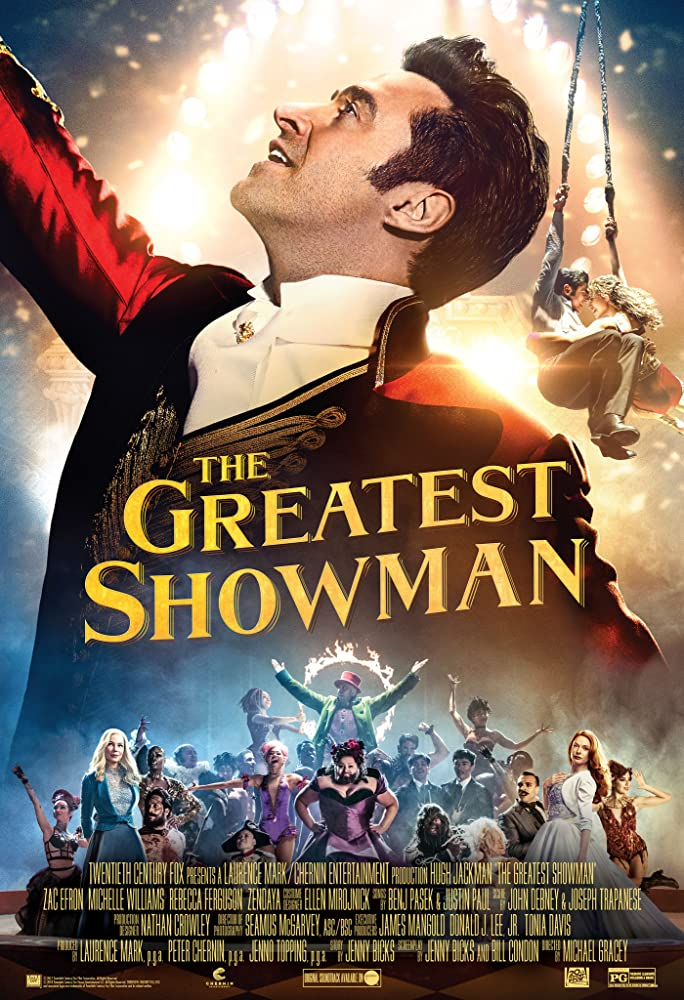 Rebecca Ferguson, Zac Efron, Zendaya, Skylar Dunn, Cameron Seely, and Sam Humphrey in The Greatest Showman (2017)