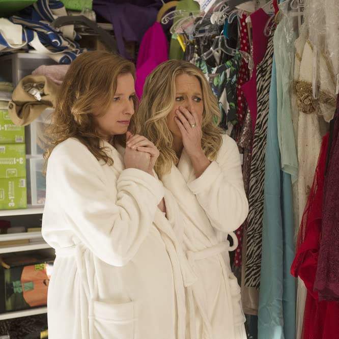 Lennon Parham and Jessica St. Clair in Playing House (2014)