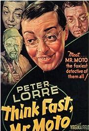 Think Fast, Mr. Moto Poster