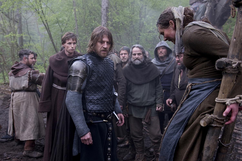 Sean Bean, Eddie Redmayne, and Keith Dunphy in Black Death (2010)