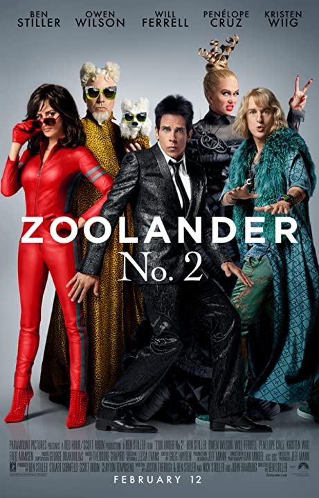 Ben Stiller, Will Ferrell, Penélope Cruz, Owen Wilson and Kristen Wiig in Zoolander 2 (2016)  Full Movie 480p HDRip  Download