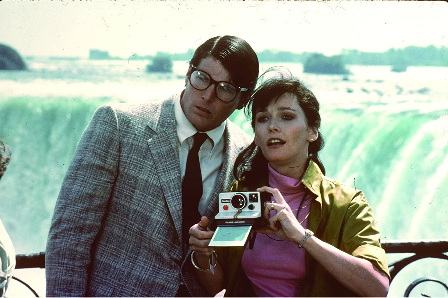 Christopher Reeve and Margot Kidder in Superman II (1980)