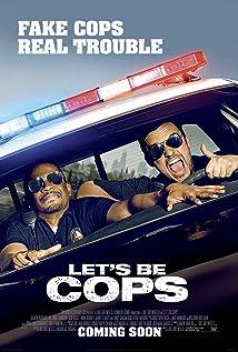 قصة فيلم لتس بي كوبس ( دعونا نكون رجال شرطة)  2014 Let's Be Cops MV5BMjI3MDY2ODQwNF5B