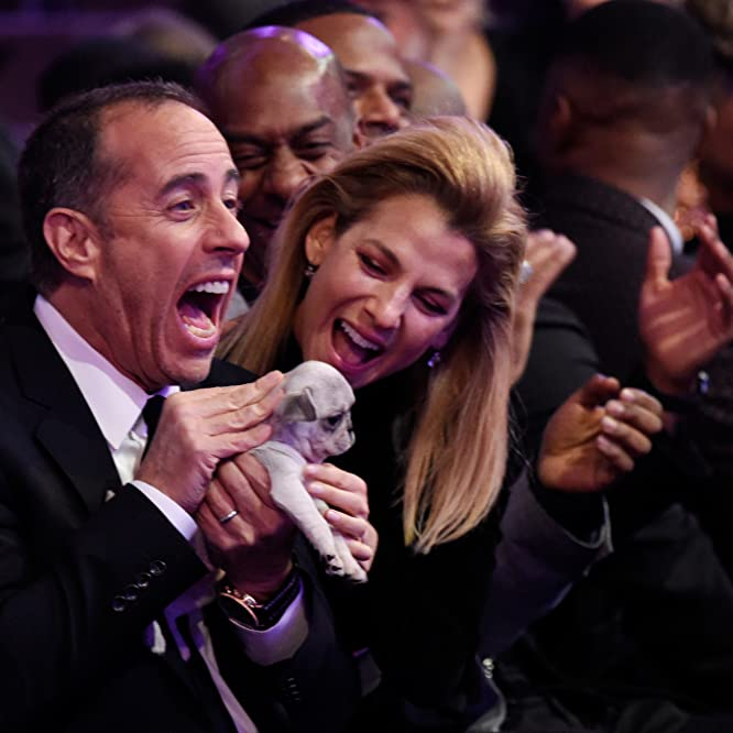 Jerry Seinfeld and Jessica Seinfeld