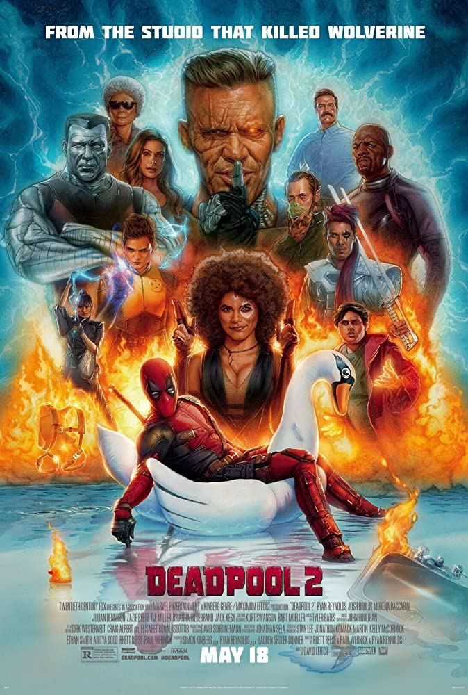 Deadpool 2 (2018) Dual Audio Hindi 350MB NEW TS-Rip 480p x264 Line Audio