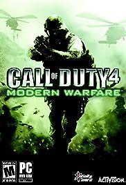 Call of Duty 4: Modern Warfare Poster