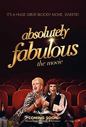 Absolutely Fabulous: The Movie poster