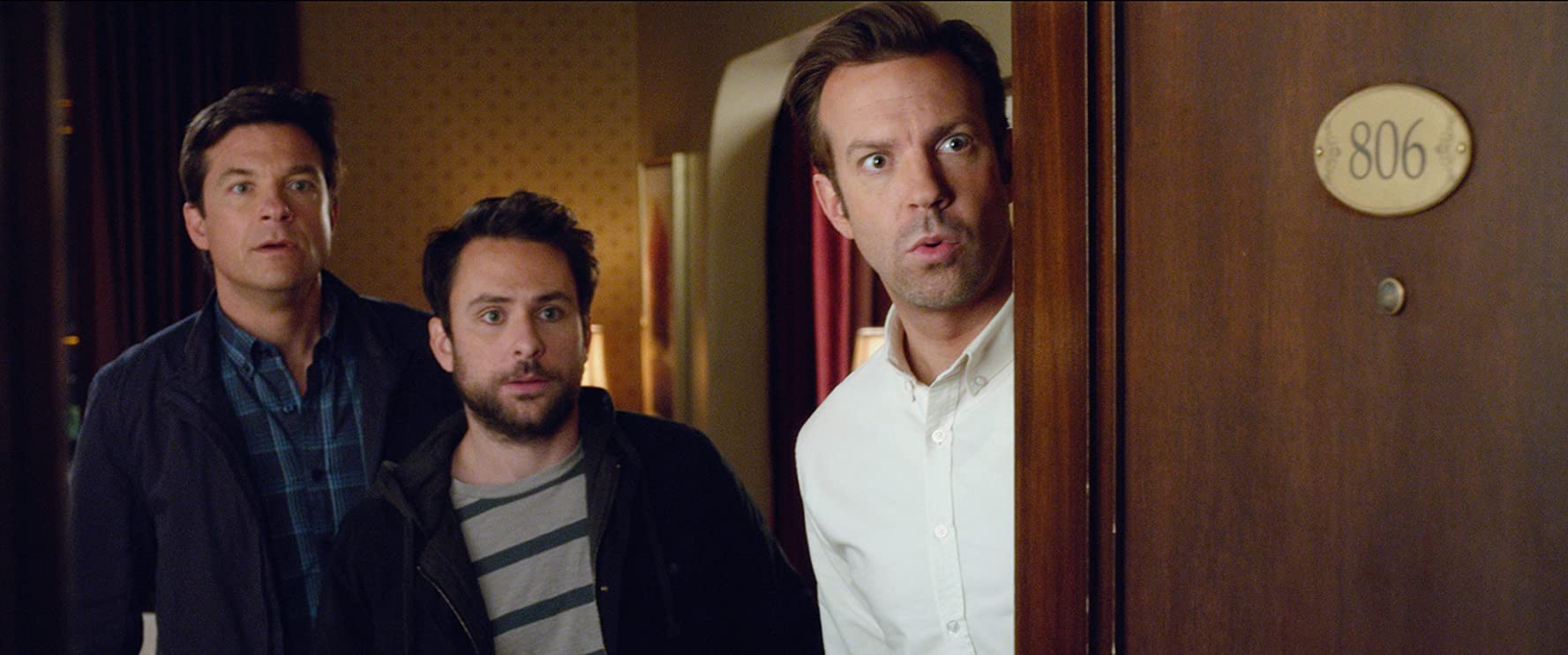Jason Bateman, Charlie Day, and Jason Sudeikis in Horrible Bosses 2 (2014)