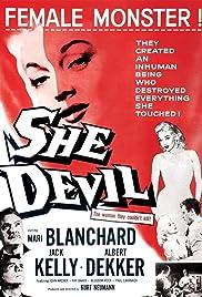 She Devil(1957) Poster - Movie Forum, Cast, Reviews