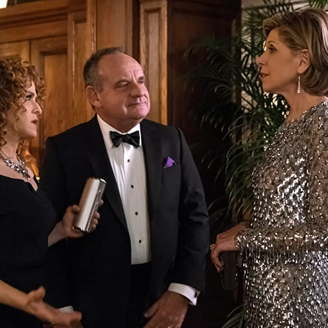 Bernadette Peters, Paul Guilfoyle, and Christine Baranski in The Good Fight (2017)