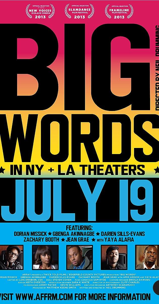Big Words (2013) - IMDb  Big Words (2013...