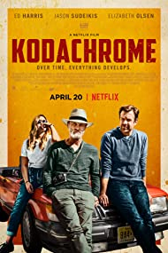 Ed Harris, Elizabeth Olsen, and Jason Sudeikis in Kodachrome (2017)