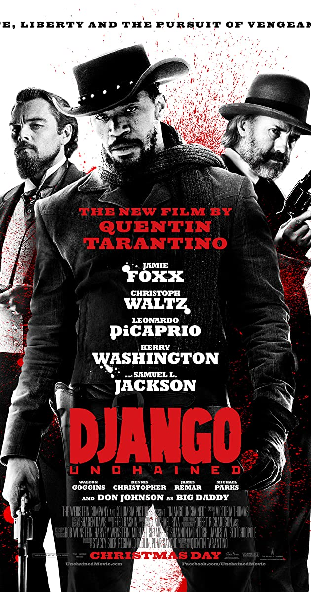 Django Unchained: Directed by Quentin Tarantino