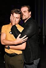 David Harbour and Joe Keery
