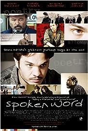 Spoken Word Poster