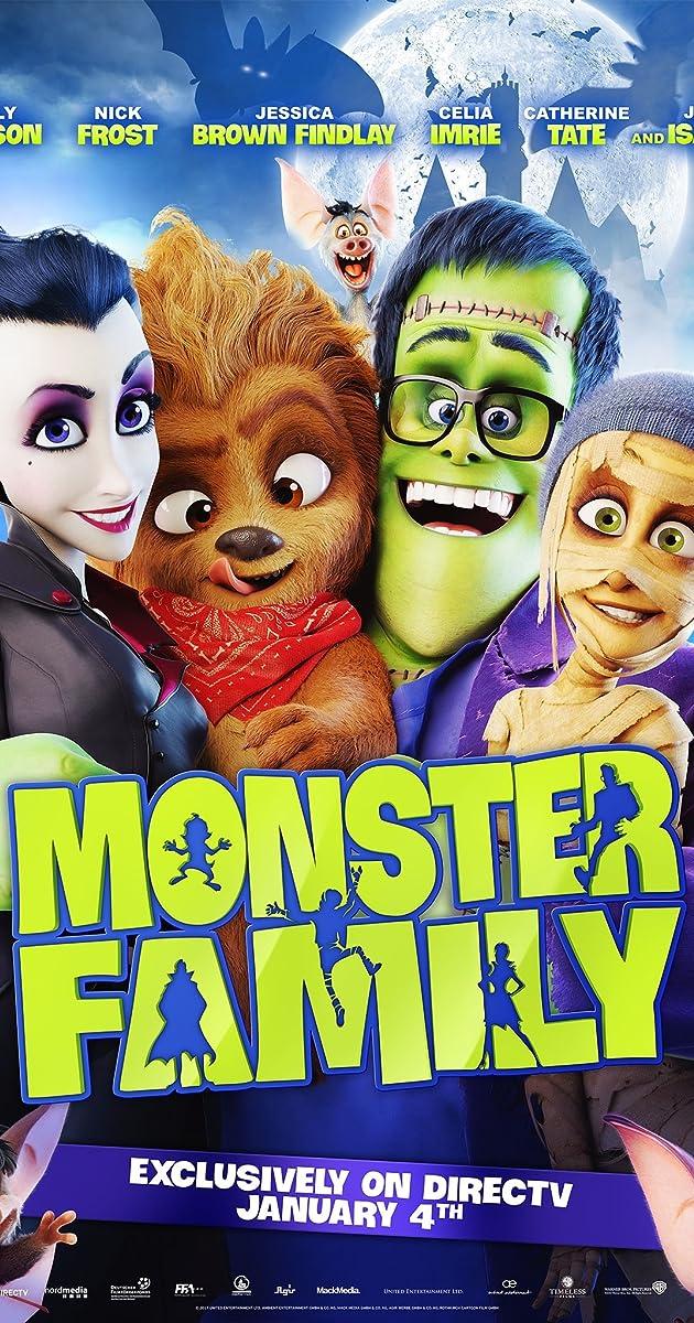 Monstrų šeimynėlė / Monster Family (2017) online