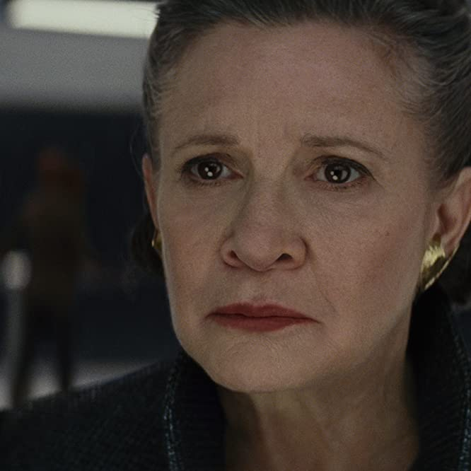 Carrie Fisher in Star Wars: The Last Jedi (2017)