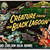 Julie Adams and Richard Carlson in Creature from the Black Lagoon (1954)