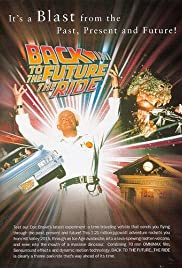 Back to the Future... The Ride Poster