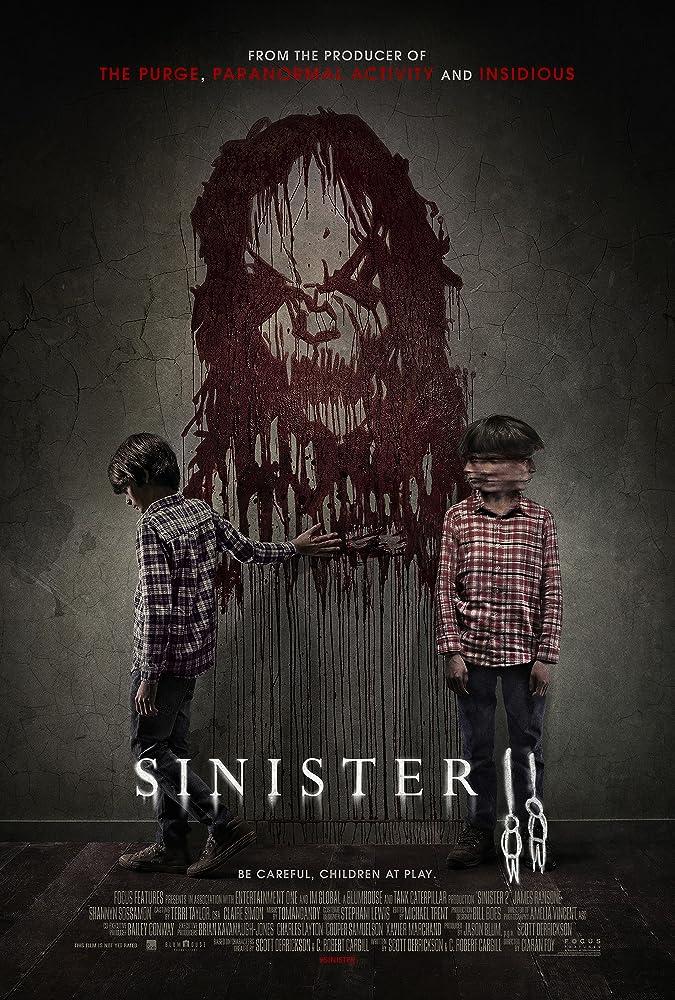 Sinister 2 (2015) Dual Audio 720p UNCUT BluRay [Hindi ORG + English] ESubs