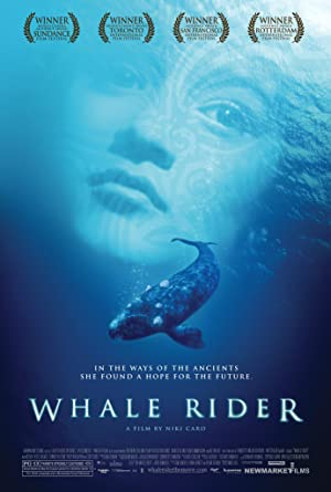 Whale Rider poster
