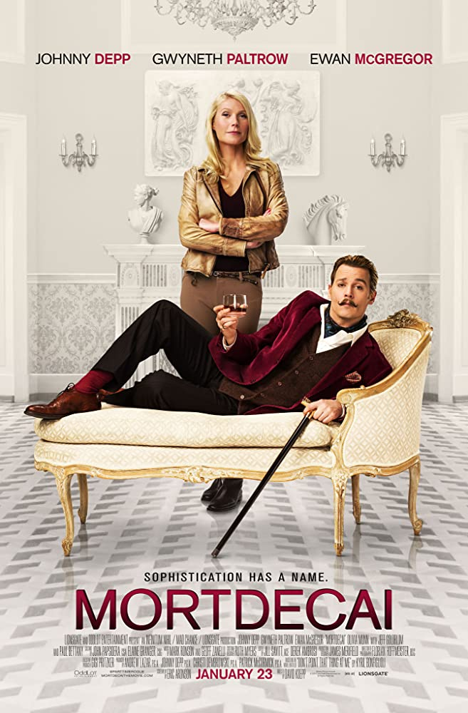 Mortdecai 2015 Dual Audio Movie 333Mb