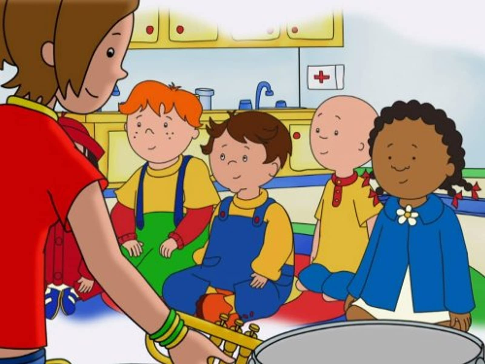 Caillou With Glasses Pictures to Pin on Pinterest - ThePinsta - photo#14