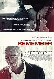 Remember(2015) Poster - Movie Forum, Cast, Reviews