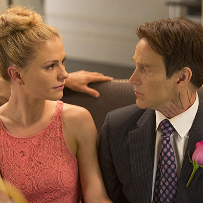 Anna Paquin and Stephen Moyer in True Blood (2008)