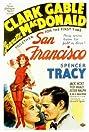 San Francisco (1936) Poster