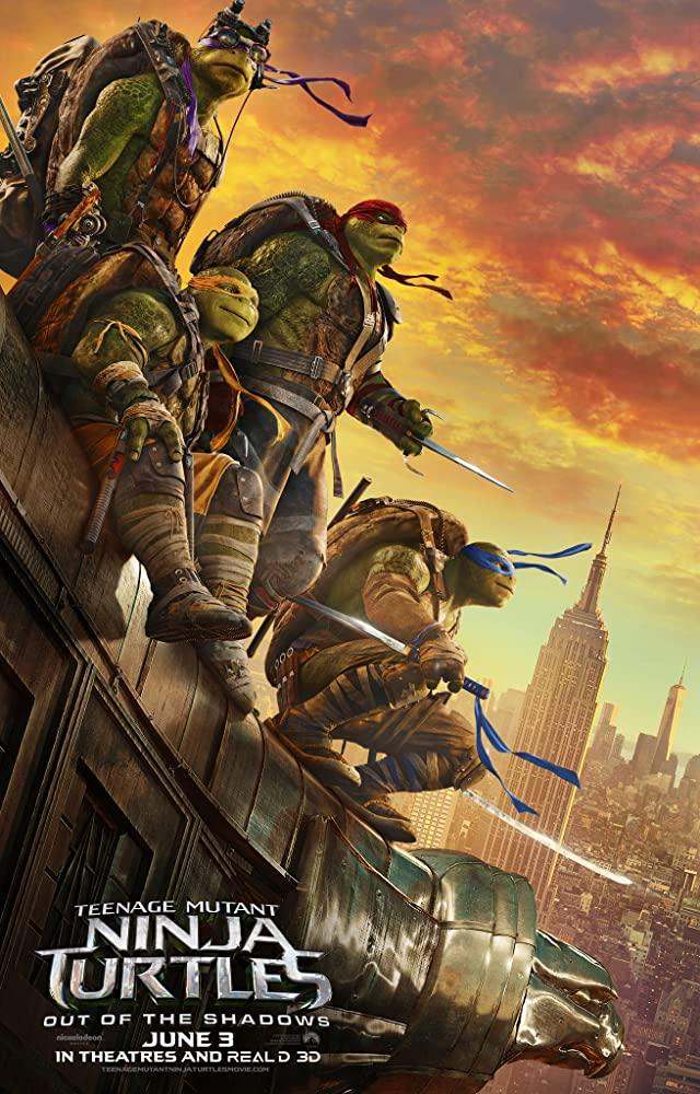Teenage Mutant Ninja Turtles: Out of the Shadows (2016) 720p HDRip Dual Audio Free Download