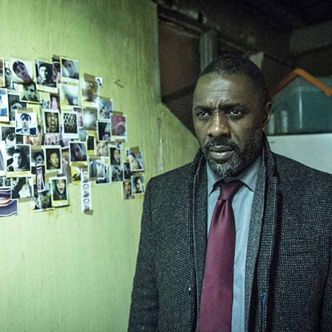 Idris Elba in Luther (2010)