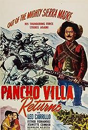Pancho Villa Returns Poster