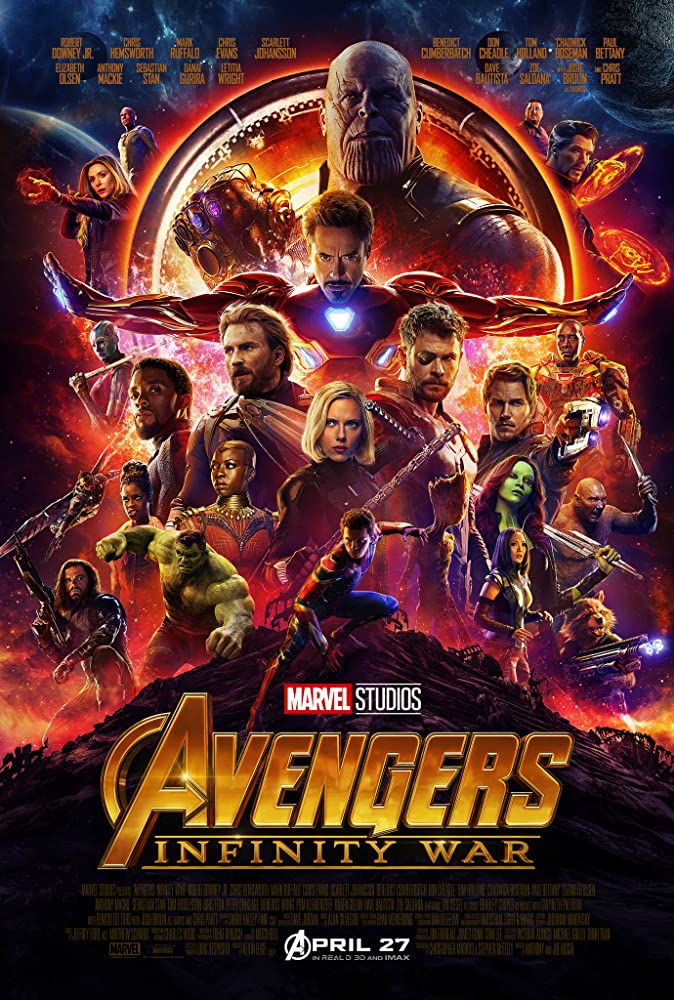 Avengers: Infinity War 2018 Movie 700MB