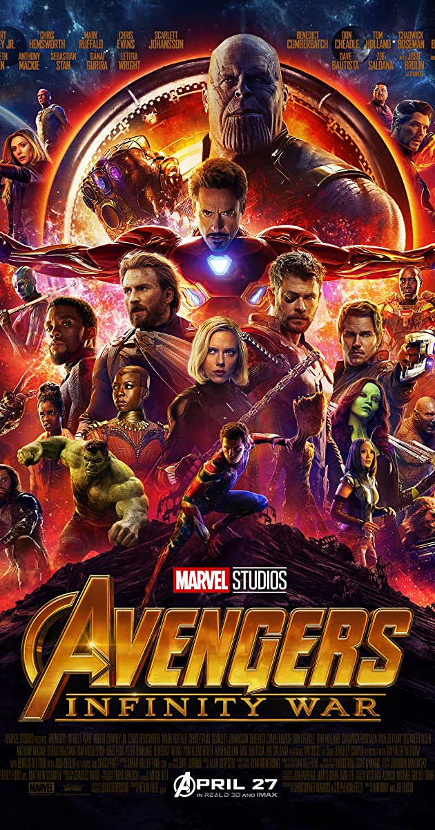 Keršytojai. Begalybės karas / Avengers: Infinity War (2018) online