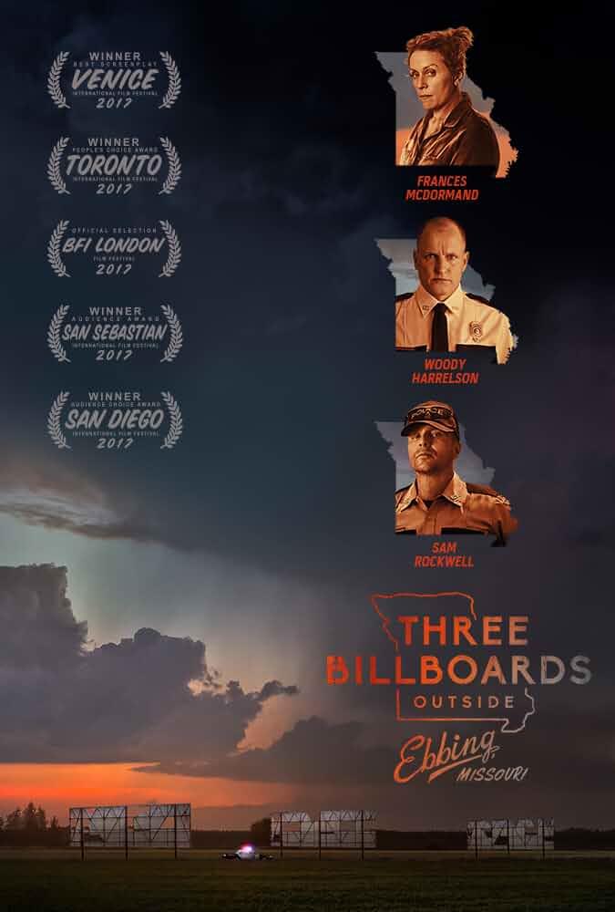 Three Billboards Outside Ebbing Missouri 2017 Dual Audio 720p BluRay