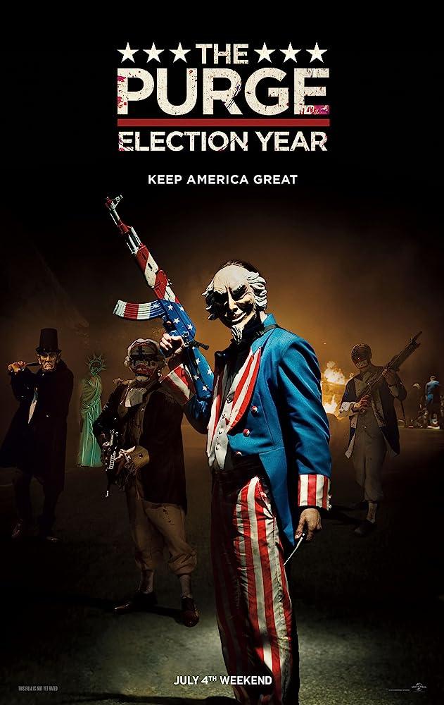 The Purge Election Year (2016) Dual Audio Hindi 350MB BluRay 480p x264
