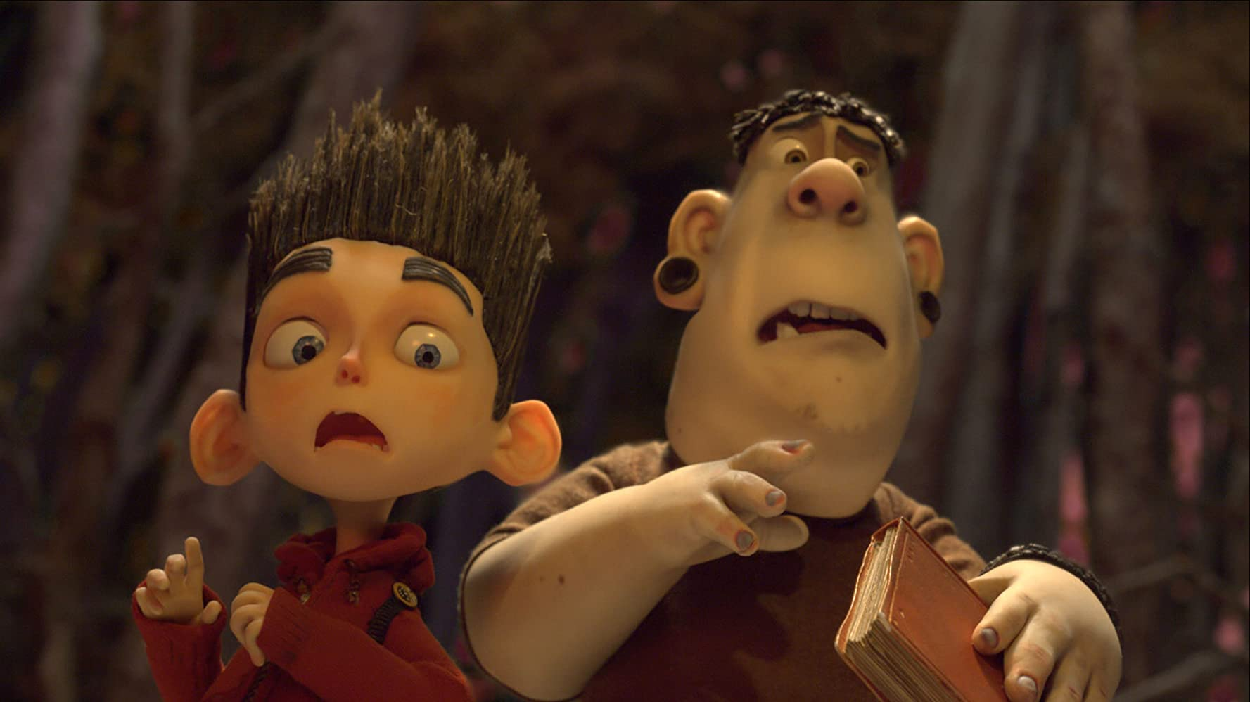 Kodi Smit-McPhee and Christopher Mintz-Plasse in ParaNorman (2012)