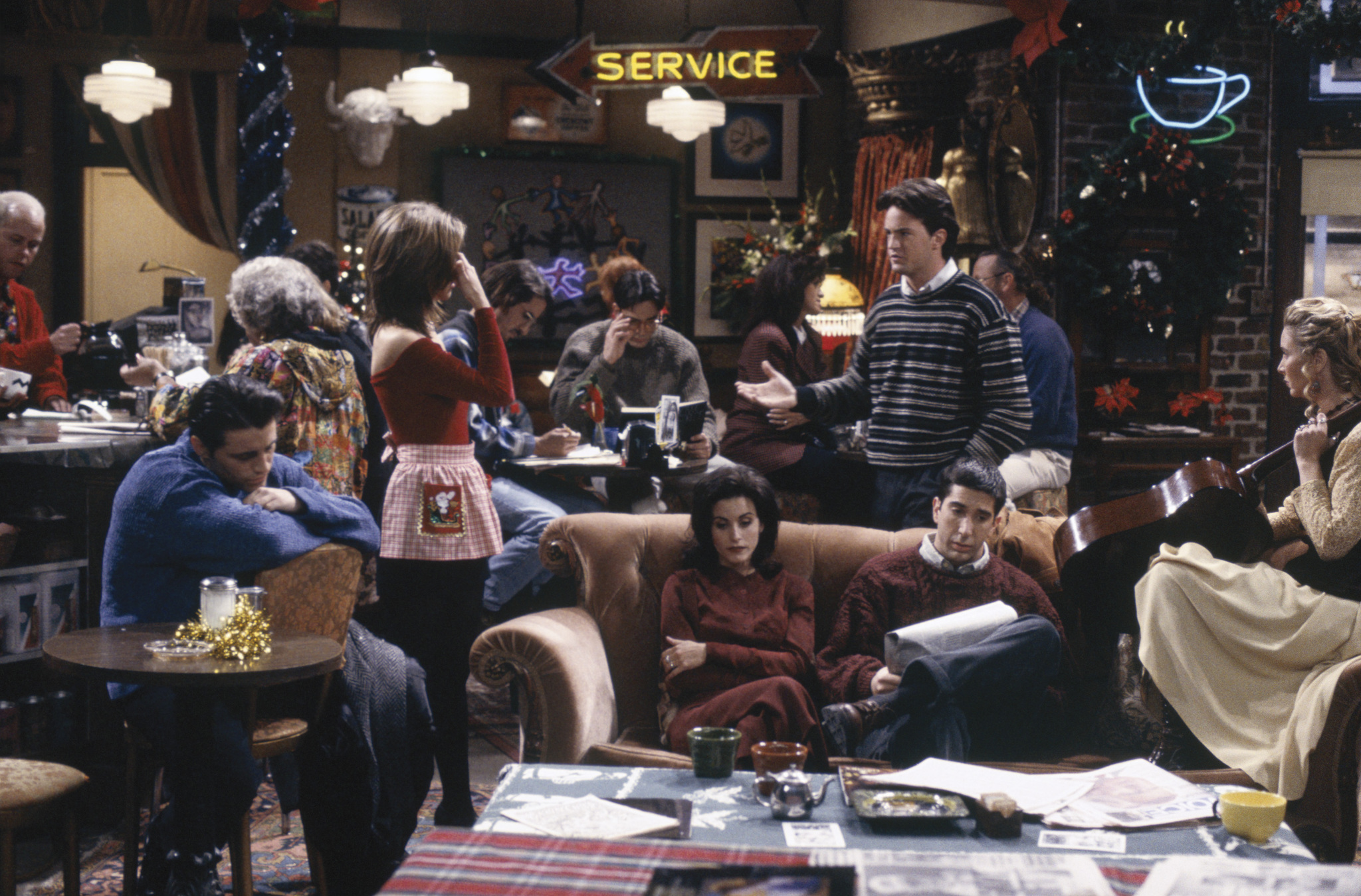 Friends: The One with the Monkey | Season 1 | Episode 10