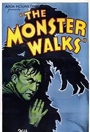 The Monster Walks Poster
