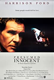 Awesome Presumed Innocent Poster Within Presumed Innocent Author
