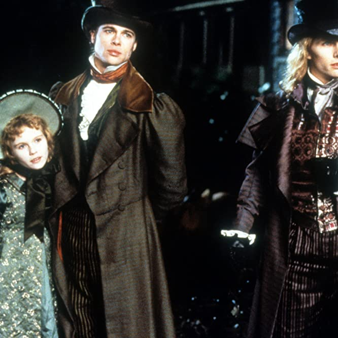 Brad Pitt, Tom Cruise, and Kirsten Dunst in Interview with the Vampire: The Vampire Chronicles (1994)