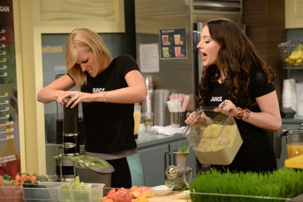 2 Broke Girls: And the Gym and Juice | Season 5 | Episode 2