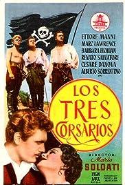 I tre corsari Poster