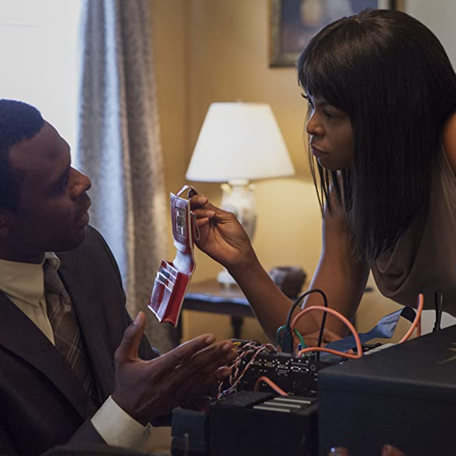 Lyriq Bent and Taraji P. Henson in Tyler Perry's Acrimony (2018)