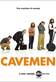 Her Embarrassed of Caveman Poster