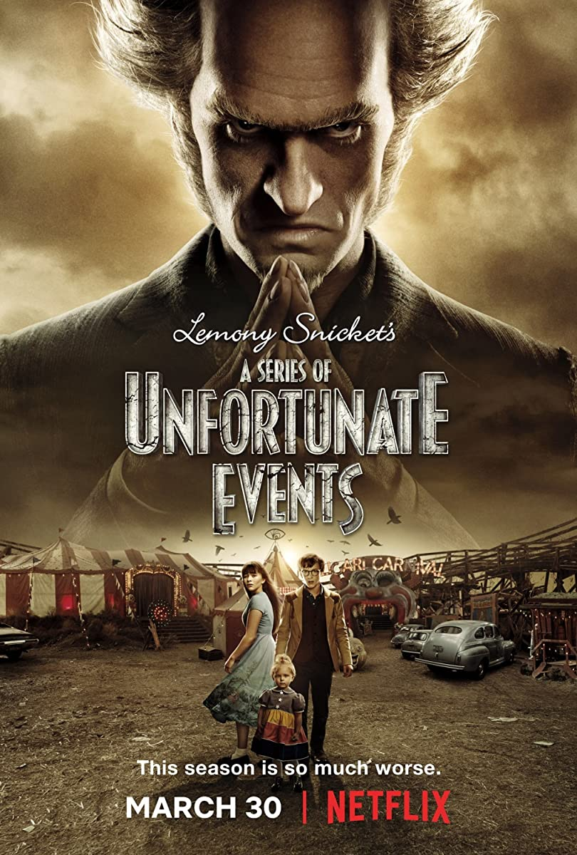 Nesėkmių virtinė 2 sezonas / A Series of Unfortunate Events Season 2 (2018)